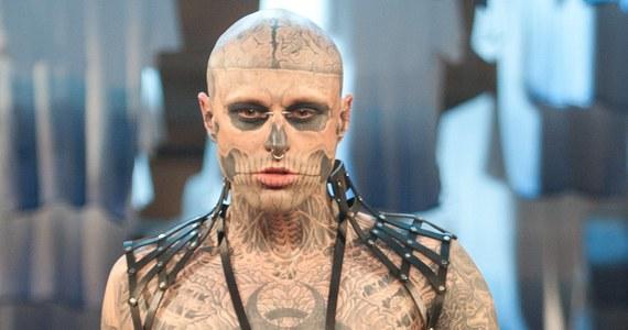 """Nie żyje Rick Genest, kanadyjski model znany ze swoich tatuaży, które miał na całym ciele. Popularny """"Zombie Boy"""" prawdopodobnie popełnił samobójstwo. Miał 32 lata."""