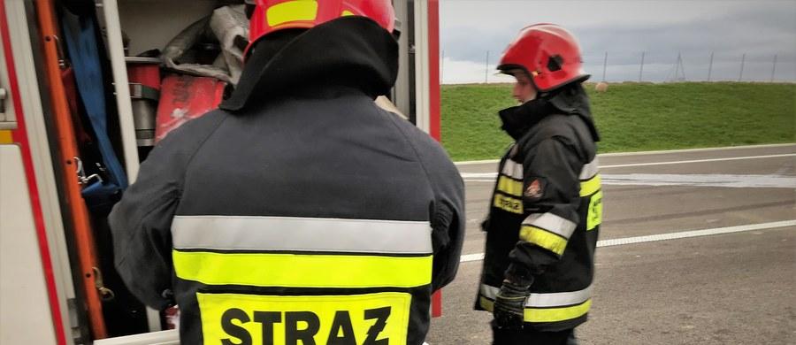 W kierunku Mławy zablokowana jest droga krajowa numer 7 między Nidzicą a Mławą w Mazowieckiem. W wypadku 4 samochodów osobowych ucierpiało 7 osób.