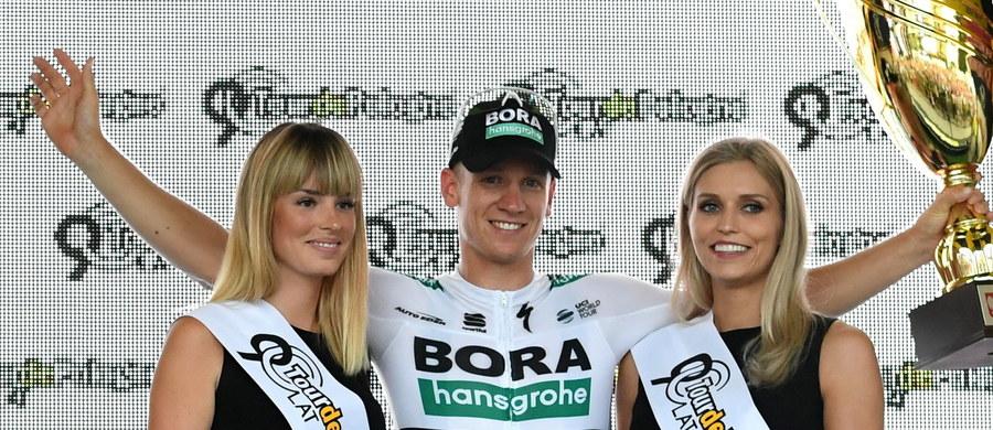 Niemiec Pascal Ackermann z ekipy Bora-Hansgrohe wygrał pierwszy etap 75. Tour de Pologne, ze startem i metą w Krakowie. Po finiszu z peletonu wyprzedził Kolumbijczyka Alvaro Jose Hodega (Quick-Step) i zdobył żółtą koszulkę lidera.