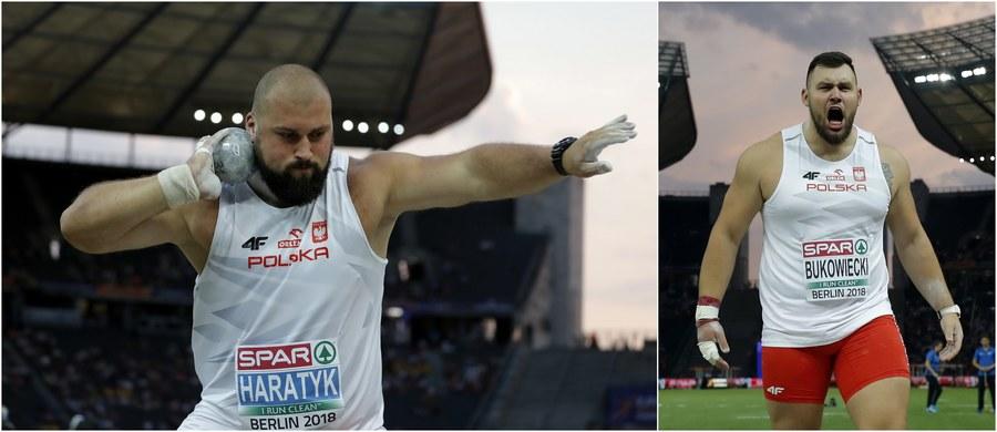 Fantastyczny start polskich kulomiotów na lekkoatletycznych mistrzostwach Europy w Berlinie! Michał Haratyk wywalczył złoto, Konrad Bukowiecki ma medal srebrny! Brąz przypadł Niemcowi Davidowi Storlowi.