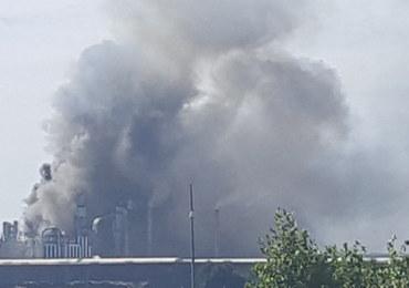 Pożar w zakładzie w Mielcu. Dym było widać z daleka