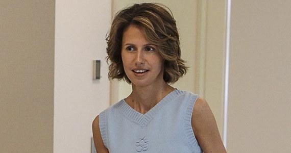 """Asma, żona syryjskiego prezydenta Baszara al-Assada, rozpoczęła """"wstępne"""" leczenie raka piersi. Choroba jest we wczesnym stadium - poinformowało biuro prasowe prezydenta na portalach społecznościowych."""
