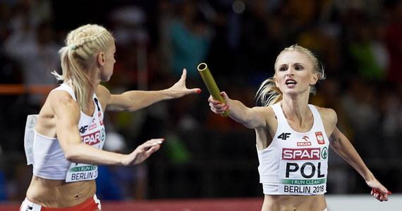 Sztafeta kobiet 4x400 m wynikiem 3.26,59 zdobyła złoty medal lekkoatletycznych mistrzostw Europy w Berlinie. Polki biegły w składzie: Małgorzata Hołub-Kowalik, Iga Baumgart-Witan, Patrycja Wyciszkiewicz i Justyna Święty-Ersetic.