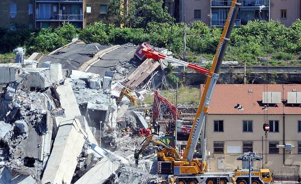Wśród 39 śmiertelnych ofiar zawalenia się wiaduktu na autostradzie w Genui na północy Włoch są mieszkańcy z kilku regionów kraju oraz obywatele Francji, Albanii, Chile, Dominikany. Zginęło troje dzieci. Ratownicy szukają w gruzach zaginionych.
