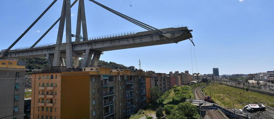 Liczba osób zaginionych, które mogą znajdować się w gruzach zawalonego mostu w Genui, wynosi od 10 do 20 - poinformowała w czwartek tamtejsza prokuratura. Wstępny bilans to 38 ofiar śmiertelnych i 16 rannych.