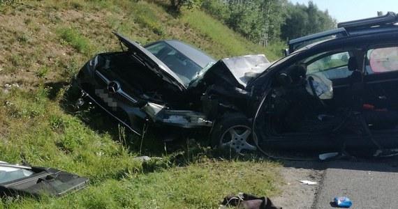 Cztery osoby zostały ranne w wypadku na drodze krajowej nr 16 w Nowym Marcinkowie między Olsztynem a Mrągowem w województwie warmińsko-mazurskim. Zderzyły się tam 3 samochody osobowe i auto dostawcze.
