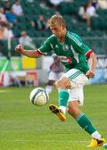 Legia Warszawa. Janusz Gol trenuje z rezerwami