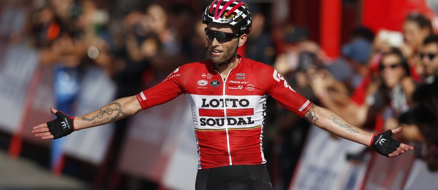 Tomasz Marczyński nie pojedzie w rozpoczynającym się 25 sierpnia w Maladze wyścigu Vuelta a Espana. Polski kolarz był początkowo w składzie ekipy Lotto Soudal, ale ostatecznie zastąpi go mistrz Europy w jeździe indywidualnej na czas Belg Victor Campenaerts.