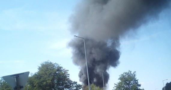 Duży pożar w Kiełczu pod Nową Solą w województwie lubuskim. Płonie wysypisko śmieci. Informację o tym zdarzeniu dostaliśmy na Gorącą Linię RMF FM.