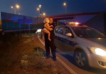 Pijany kierowca uciekał przed policją. W aucie wiózł 2-letnią córkę