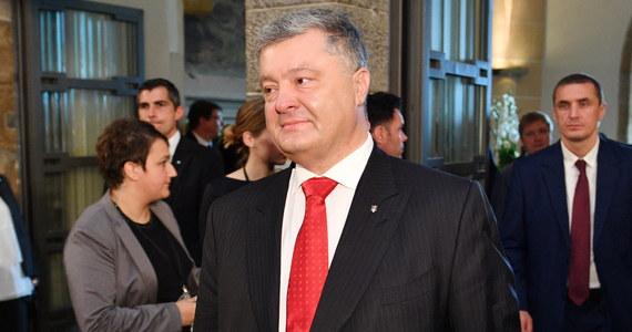 Prezydent Ukrainy Petro Poroszenko wyraził w środę zaniepokojenie w związku z obecnością w jego kraju polityków, będących adwokatami działań prezydenta Rosji Władimira Putina. Wszyscy oni pracują na rzecz agresora - powiedział.