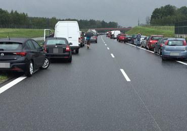 Karambol na A4 w Małopolsce. Dziesięć osób rannych