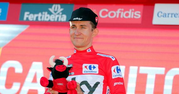 Michał Kwiatkowski (Sky) został liderem kolarskiego wyścigu Vuelta a Espana. W niedzielę szybszy od Polaka był tylko Hiszpan Alejandro Valverde (Movistar).
