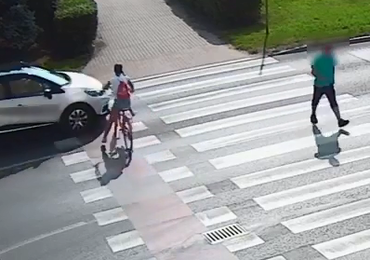 Grudziądz: 11-letnia rowerzystka potrącona przez samochód