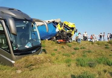 Wypadek polskiego autokaru na Węgrzech. 2 osoby ranne