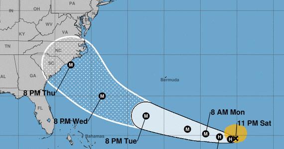 Tropikalna burza Florence, która obecnie zmierza w kierunku Bermudów, prawdopodobnie przekształci się w huragan i może zagrozić wschodniemu wybrzeżu USA - ostrzegło w sobotę amerykańskie Narodowe Centrum ds. Huraganów (NHC).