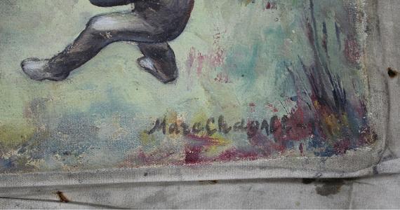 Człowiek, który próbował wwieźć do Polski ten obraz, stwierdził, że otrzymał go w formie darowizny od ojca. Jak powiedział, wydaje mu się, że jest to oryginalne dzieło. Poza tym posiada dokumenty, które w pewien sposób potwierdzają pochodzenie farby i płótna z tego okresu, w którym tworzył Chagall - mówi Marta Szpakowska, rzecznik Izby Administracji Skarbowej w Lublinie. Chodzi o obraz, który 4 września w trakcie rutynowej kontroli na przejściu granicznym w Hrebennem znaleźli celnicy. 51-letni obywatel Ukrainy przewoził go na tylnym siedzeniu skody. Płótno było przykryte kurtką.