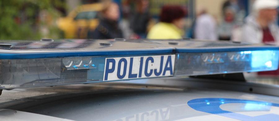 Śmiertelne potrącenie pieszego przez samochód osobowy na drodze S7 w województwie warmińsko-mazurskim.