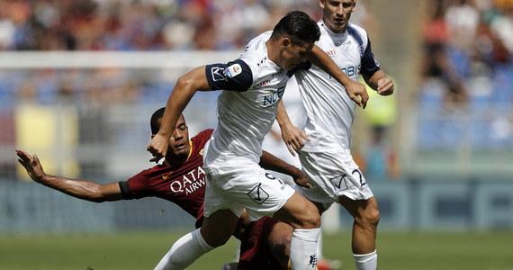 Mariusz Stępiński zdobył bramkę dla Chievo Werona na wagę remisu 2:2 w wyjazdowym meczu 4. kolejki ligi włoskiej z AS Roma. Polski napastnik wpisał się na listę strzelców w 83. minucie.