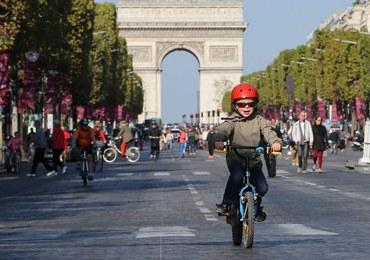 Niedziela w Paryżu była dniem bez samochodu