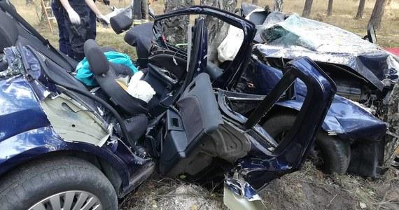 Lekarzom nie udało się uratować 26-latki rannej w wypadku na trasie Bytnica-Głębokie w Lubuskiem. W sobotę Ford Mondeo z młodym małżeństwem w środku uderzył w drzewo. 27-letni kierowca zginął na miejscu, a jego 26-letnia pasażerka została ranna i zakleszczona w pojeździe.