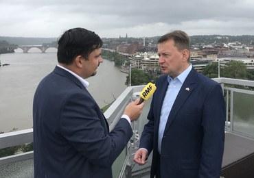 Błaszczak: W Pentagonie trwają rozmowy o bazach wojsk USA w Polsce