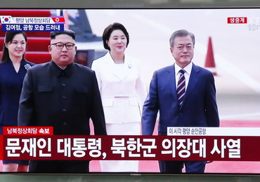 Prezydent Korei Południowej przybył do Pjongjangu