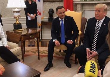 Duda: Liczę, że rozmowy przyniosą efekty dot. wojskowej obecności USA w Polsce