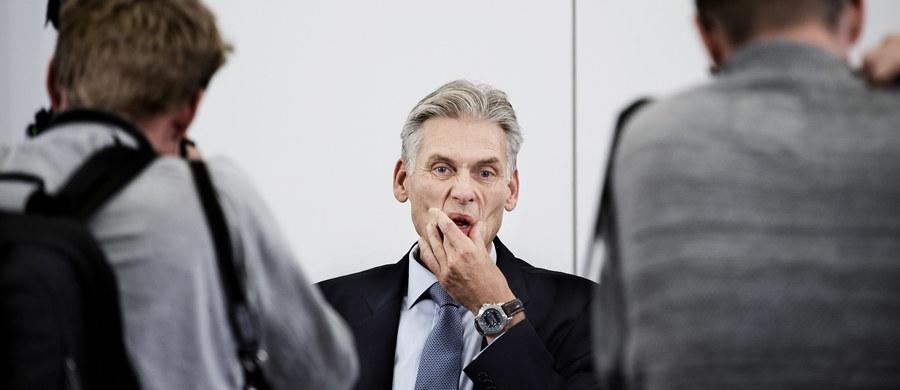 Dyrektor generalny największego duńskiego banku - Danske Bank - Thomas Borgen podał się w środę do dymisji w związku ze skandalem dotyczącym prania brudnych pieniędzy w estońskiej filii tej instytucji finansowej. Pozostanie na stanowisku do czasu powołania następcy.