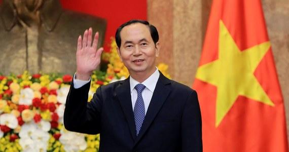 Prezydent Wietnamu Tran Dai Quang zmarł w wieku 61 lat - poinformowała oficjalna wietnamska agencja prasowa VNA. Przywódca należał do konserwatywnego skrzydła w rządzącej krajem partii komunistycznej.