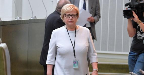 """""""Ja przedstawiłam (premierowi) swoje stanowisko i to stanowisko nie uległo zmianie"""" - mówiła w oświadczeniu prof. Małgorzata Gersdorf w nawiązaniu do jej czwartkowego spotkania z Mateuszem Morawieckim. Podkreśliła, że chce, by zwolnieni sędziowie powrócili na swoje stanowiska, a ona sama nadal pozostanie I prezes Sądu Najwyższego."""