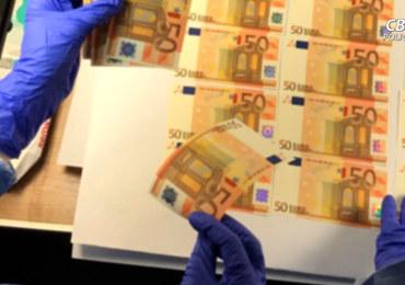 Drukował w Gdyni fałszywe euro. Banknoty trafiały do wielu krajów Europy