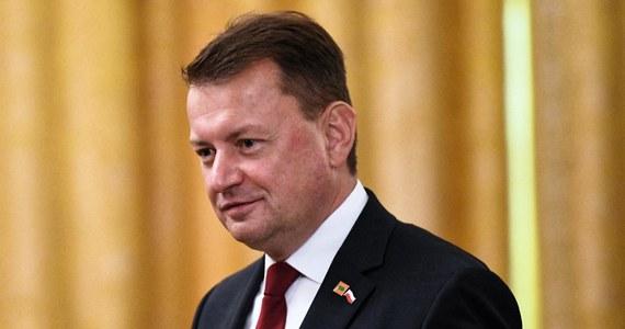 Trybunał Sprawiedliwości UE zajmuje się różnymi sprawami, wiele państw nie wykonuje orzeczeń, które zapadają. Nie mówię, że Polska też nie wykona orzeczenia, ale jesteśmy jeszcze na wstępnym etapie - powiedział szef MON Mariusz Błaszczak. Zapewnił, że rząd nie wycofa się z reformy sądownictwa.