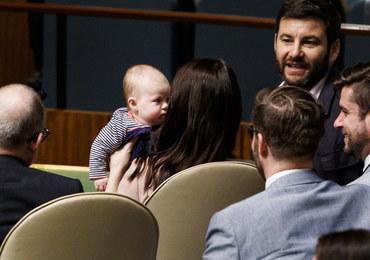 Premier Nowej Zelandii zabrała na obrady ONZ… 3-miesięczną córeczkę