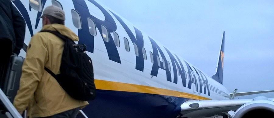 Irlandzkie tanie linie lotnicze Ryanair poinformowały we wtorek, że w związku z zapowiedzianym na piątek, 28 września, strajkiem personelu kabinowego odwołały 190 lotów, które miały tego dnia wykonać na terenie Europy.