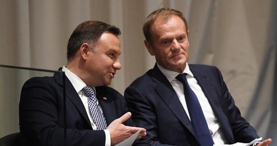 Rozmowa prezydenta Andrzeja Dudy i przewodniczącego Rady Europejskiej Donalda Tuska we wtorek w siedzibie ONZ miała charakter nieformalny i prywatny - powiedział szef gabinetu prezydenta Krzysztof Szczerski.