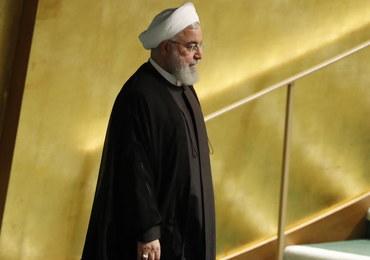 Rowhani: Iran nie chce iść na wojnę z siłami USA na Bliskim Wschodzie