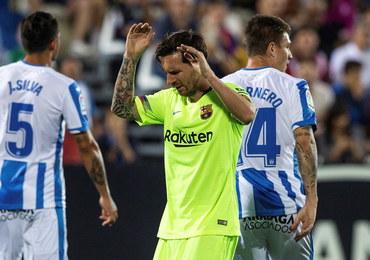 Liga hiszpańska: Barcelona przegrała z ostatnim zespołem w tabeli
