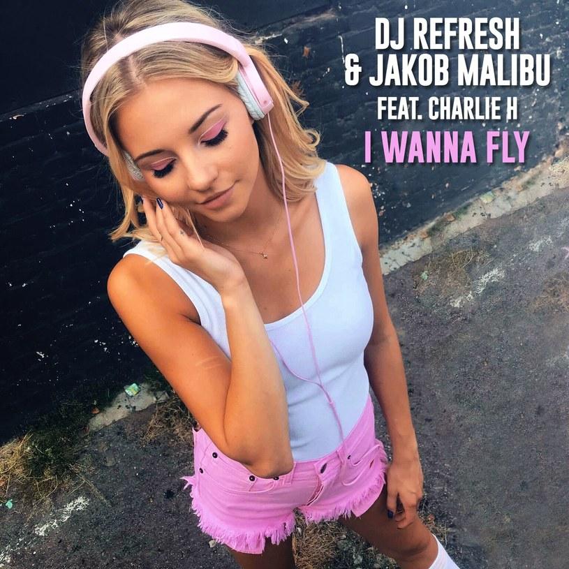 """Poniżej możecie zobaczyć teledysk """"I Wanna Fly"""" za który odpowiadają DJ Refresh, Jakob Malibu i Charlie H."""