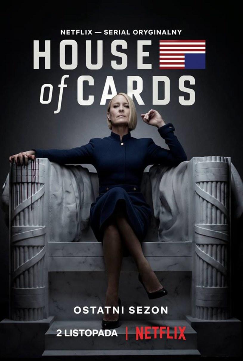 """Bohater Kevina Spaceya w serialu """"House of Cards"""" został uśmiercony - Netflix zaprezentował zapowiedź finałowego sezonu show."""