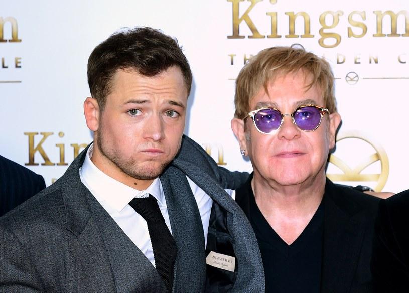 Znalezione obrazy dla zapytania: Eltona Johna i Tarona Egertona