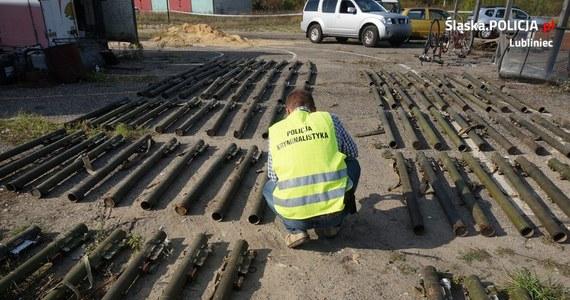 Potężny arsenał znaleźli policjanci u 52-letniego mieszkańca Lublińca w Śląskiem. Na czas akcji policji trzeba było ewakuować ludzi z pobliskiej firmy.