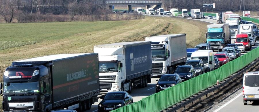 Na drogach w rejonie Słubic i Świecka w woj. lubuskim w czwartek może być tłoczno - ostrzega policja. Wszystko z powodu świątecznej przerwy w ruchu ciężarówek, która w środę będzie obowiązywała w Niemczech.
