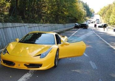 Wypadek na Słowacji: Będzie areszt dla kierowców porsche, ferrari i mercedesa?