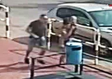 Kobieta z dzieckiem i mężczyzna uciekają z samochodu. Poszukiwania po wypadku