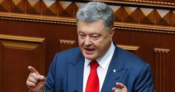"""Prezydent Ukrainy Petro Poroszenko zaapelował do wicepremiera Włoch Matteo Salviniego, by przyjechał do Donbasu i zobaczył, jakie """"piekło"""" wywołała tam Rosja Władimira Putina. To reakcja na to, że Salvini popiera prezydenta Rosji i aneksję Krymu."""