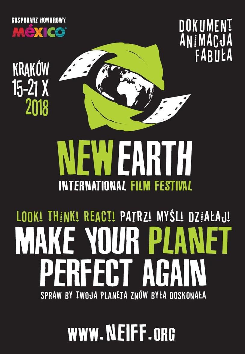 Pierwsza edycja międzynarodowego festiwalu filmów ekologicznych NEIFF - New Earth International Film Festival rozpocznie się 15 października w Krakowie. Widzowie obejrzą prawie 80 filmów o tematyce ekologicznej.