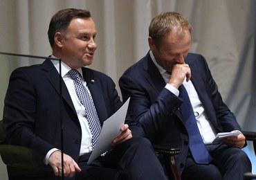 Duda o Tusku: Nie powiem, że jesteśmy kolegami, ale...