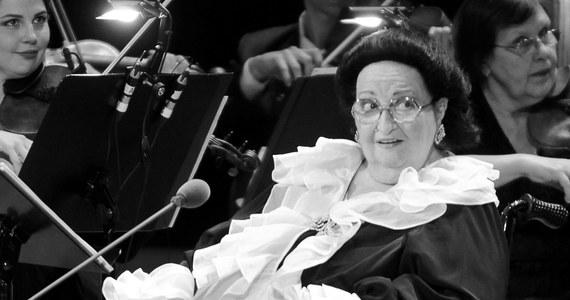 """Słynna hiszpańska diva operowa, sopranistka Montserrat Caballe zmarła w szpitalu św. Krzyża i św. Pawła w Barcelonie. Śpiewaczka, zwana """"La Superba"""" (Wspaniała), i uważana za jeden z największych głosów XX wieku, miała 85 lat. """"Zmarła tej nocy w szpitalu św. Krzyża i św. Pawła"""" - poinformowało agencję AFP źródło w tym szpitalu."""