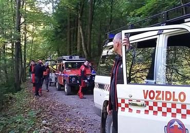 Polacy ranni w górach na Słowacji